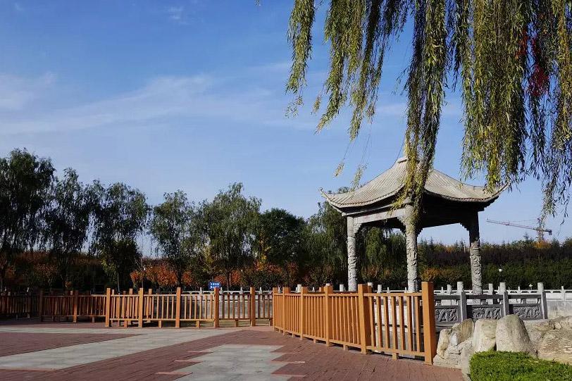 凤翔县城墙遗址公园